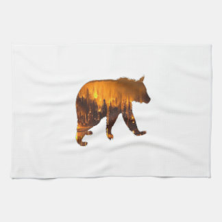 Fire Walker Tea Towel