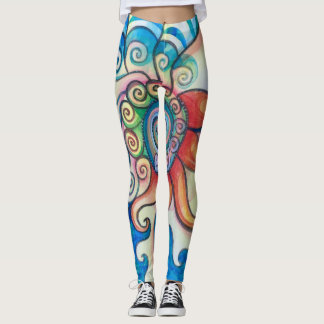 Fire & Water Leggings