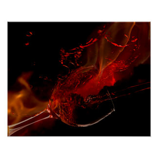 Fire Wine Poster
