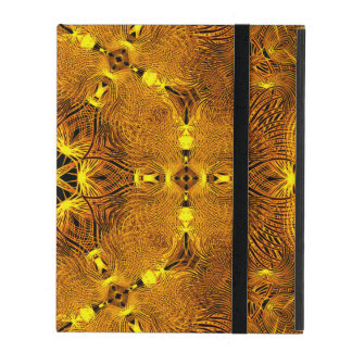 Fire Wings Mandala Cover For iPad