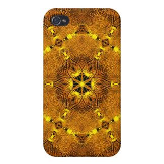 Fire Wings Mandala iPhone 4/4S Cover