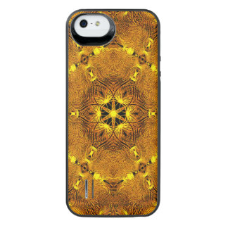 Fire Wings Mandala iPhone SE/5/5s Battery Case