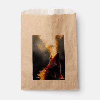 Fire wolf favour bag