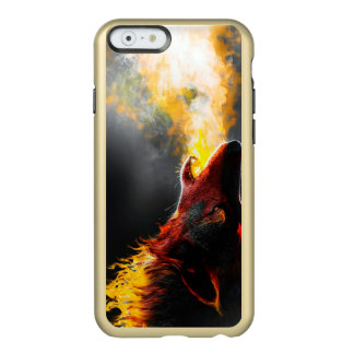 Fire wolf incipio feather® shine iPhone 6 case