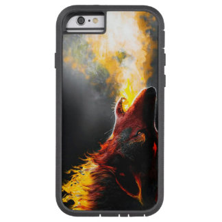 Fire wolf tough xtreme iPhone 6 case