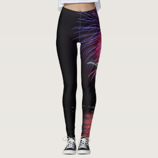 fire works II Leggings