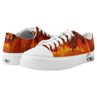Fire World Low Tops