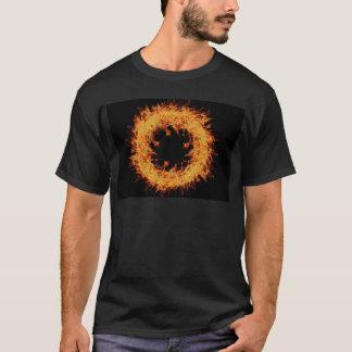fire wreath design T-Shirt