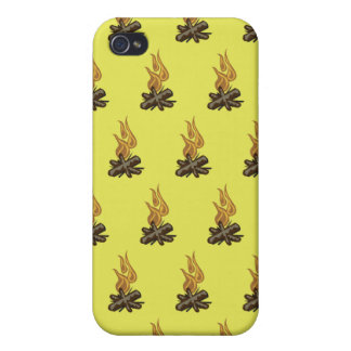Fire Yellow iPhone 4/4S Case