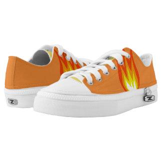 """FIRE"" Zipz Shoes"