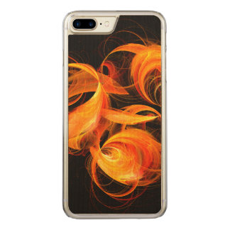 Fireball Abstract Art Carved iPhone 8 Plus/7 Plus Case