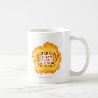 Fireball the Chamber Basic White Mug