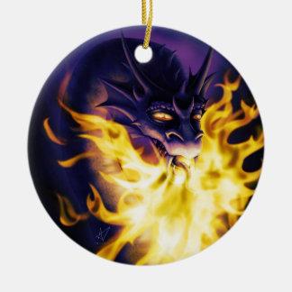 Firebreather Ceramic Ornament