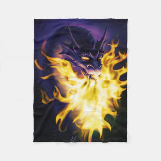 Firebreather Fleece Blanket
