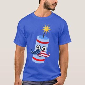 FIRECRACKER WITH MUSTACHE T-Shirt