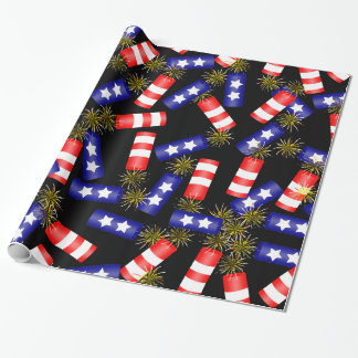 Firecrackers for the 4th of July Wrapping Paper