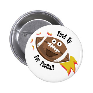 Fired Up 6 Cm Round Badge