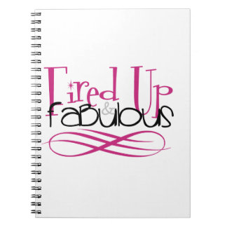 fired up & fabulous notebooks