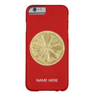 Firefighter 4 Bugle Gold Medallion Barely There iPhone 6 Case