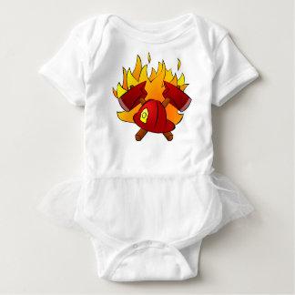 Firefighter Baby Bodysuit