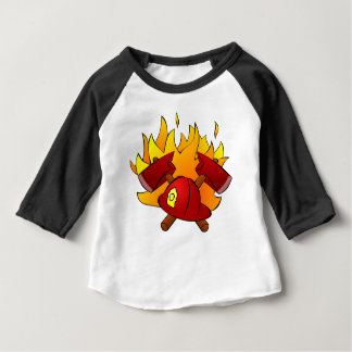 Firefighter Baby T-Shirt