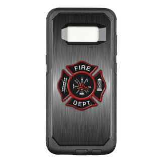 Firefighter Badge Deluxe OtterBox Commuter Samsung Galaxy S8 Case