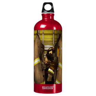 Firefighter - Bunker Gear Water Bottle