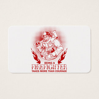 Firefighter Business Card