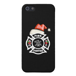 Firefighter Christmas Santa Claus iPhone 5 Cover