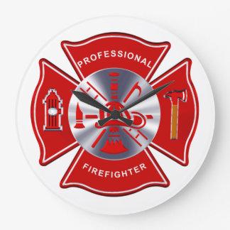Firefighter Clock - Professional