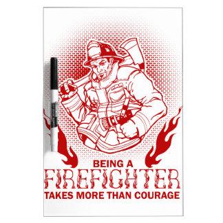 Firefighter Dry Erase Board