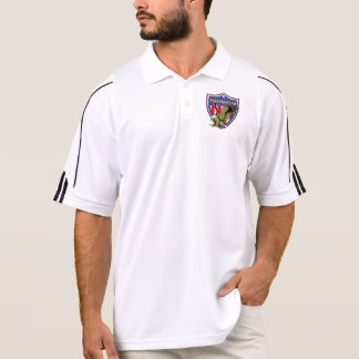 Firefighter Eagle Shield Polo Shirt