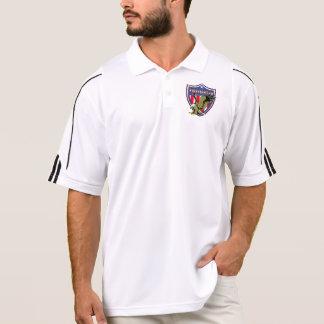 Firefighter Eagle Shield Polo Shirts