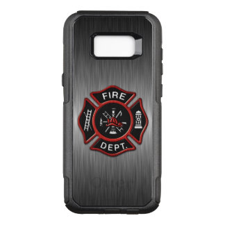 Firefighter Emblem Red OtterBox Commuter Samsung Galaxy S8+ Case