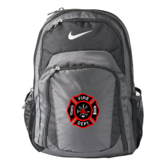 Firefighter EMT Maltese Cross Backpack