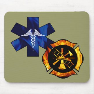 Firefighter/EMT Mouse Pad