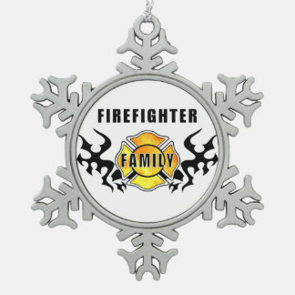 Firefighter Family Ornaments