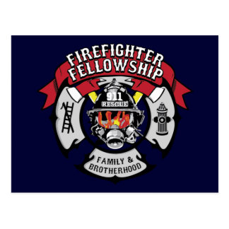 Firefighter Fellowship Campaign Products Postcard