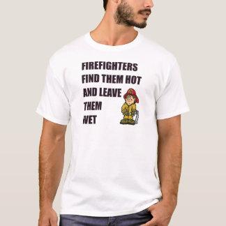 FIREFIGHTER FIND THEM HOT T-Shirt