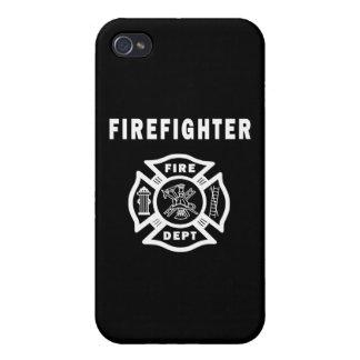 Firefighter Fire Dept iPhone 4 Case