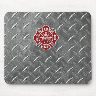 Firefighter / Fire Dept Maltese Cross Mousepad