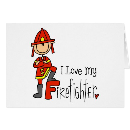 Firefighter Gift Greeting Cards