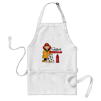 Firefighter Gifts Adult Apron