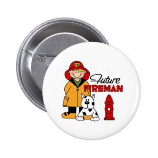 Firefighter Gifts Pinback Button