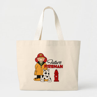 Firefighter Gifts Canvas Bags