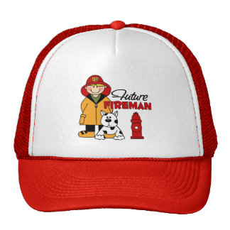 Firefighter Gifts Mesh Hat