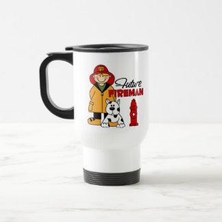 Firefighter Gifts 15 Oz Stainless Steel Travel Mug