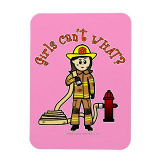 Firefighter Girl Magnets