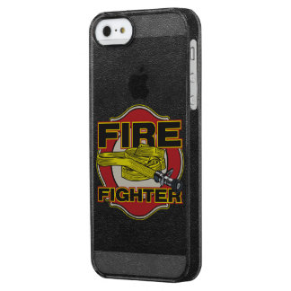 Firefighter Hose and Shield Clear iPhone SE/5/5s Case