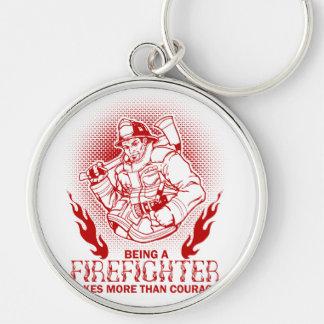 Firefighter Key Ring